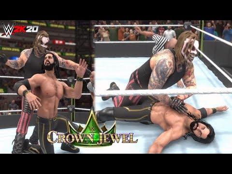 WWE 2K20: The Fiend vs Seth Rollins - Crown Jewel Gameplay (DLC) |