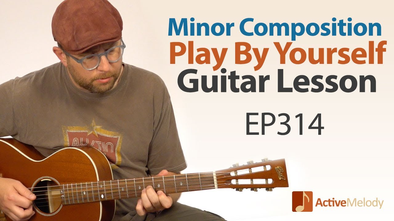 Download Play a Minor Key Composition By Yourself on Guitar Using Only 3 Chords - Blues Guitar Lesson - EP314