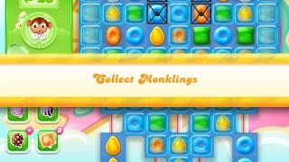 Candy Crush Jelly Saga Level 744 (3 star, No boosters)