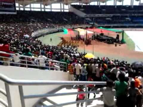 Jubilee in Zambia at Heroes Stadium