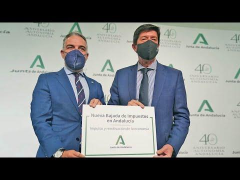 """""""Segunda bajada de impuestos masiva"""" en Andalucía"""