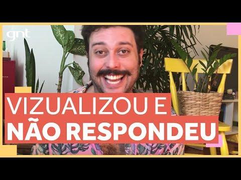 Pedroca Monteiro desabafa sobre quem visualiza e não responde | Papo de Segunda