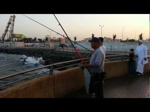 FISHING - CORNICHE ROAD, JEDDAH, SAUDI ARABIA