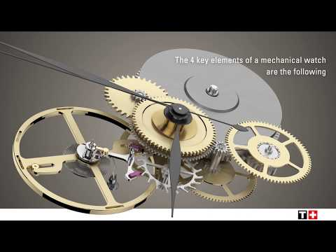 Tissot Powermatic80 Silicium - how does a mechanical movement work ?