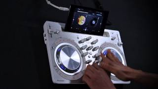 Pioneer DDJ-WeGO3 with Algoriddim's djay 2 for Android