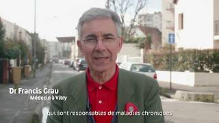 Docteur Francis Grau pour des légumes et des fruits bio à la cantine