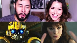 BUMBLEBEE (TUNA) Trailer Reaction by Jabster & The Achster