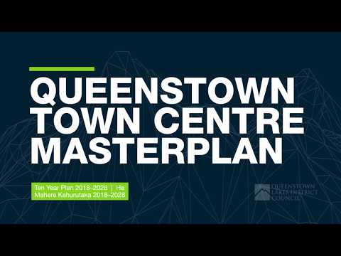 Queenstown Town Centre Masterplan