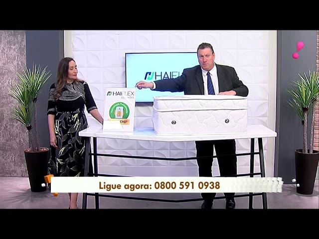 Colchão Tecnológico Haiflex no programa A Tarde é Sua - Gazeta