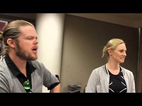 Daredevil's Elden Henson and Deborah Ann Woll Talk about the hit