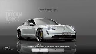 Gran Turismo™SPORT Porsche Taycan Turbo S Test Race