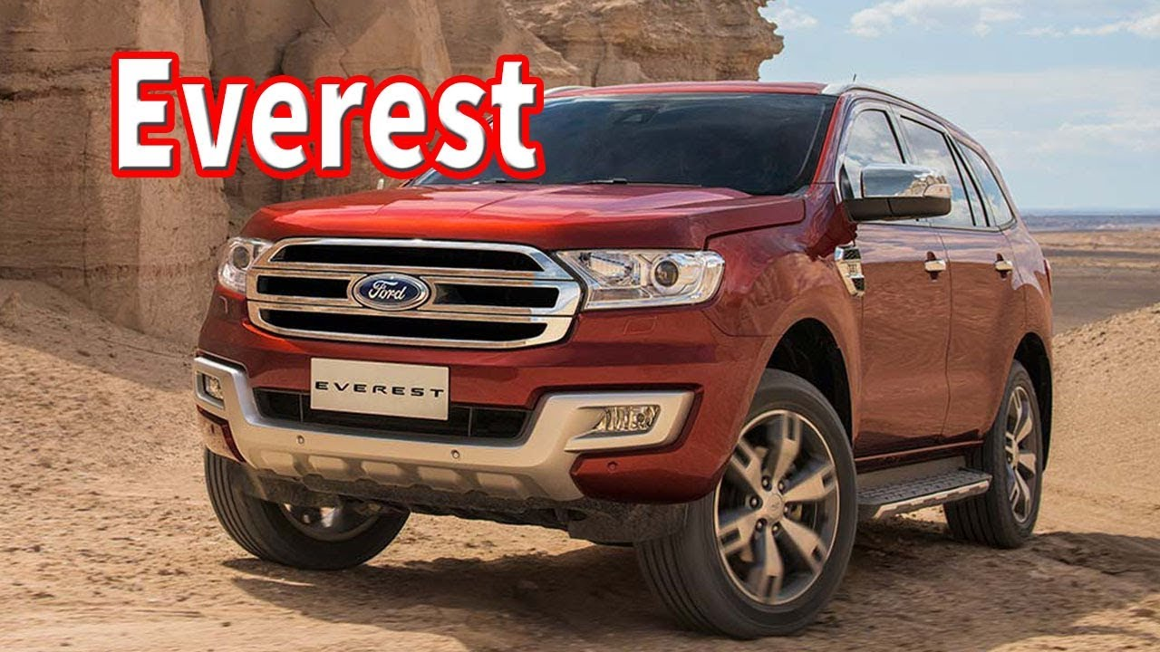 2020 Ford Everest Biturbo