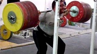 Coaching Tips for Full-Depth Squat, Max Aita Squats 660lbs at California Strength