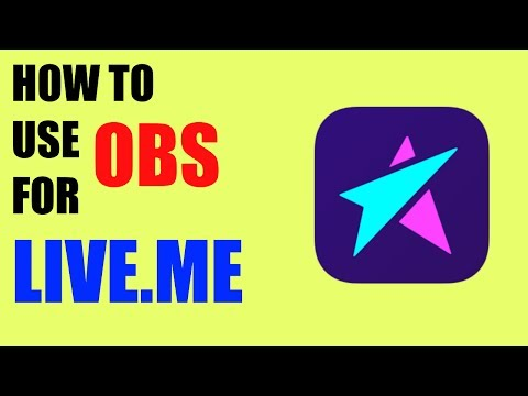 (Tutorial) How To Stream Video Games On Live.Me With OBS