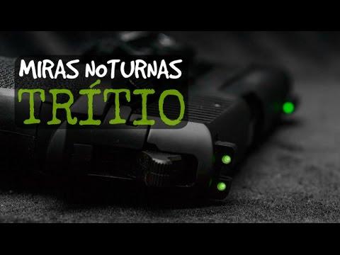 Miras Noturnas Com Trítio NOVAK - Taurus (Demonstração) - Tritium Night Sights Demonstration
