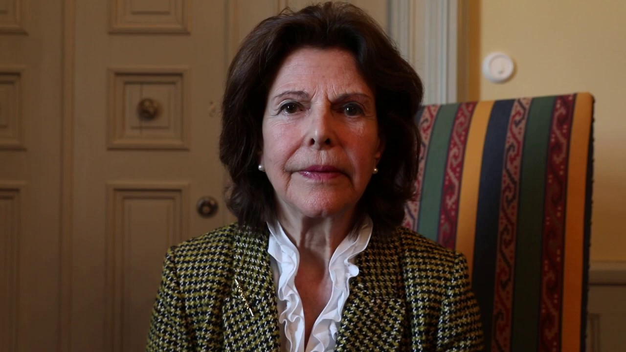 Childhood Founder Queen Silvia of Sweden's response to COVID-19