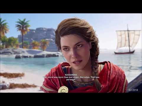 Watch 40 Minutes Of Assassin S Creed Odyssey Gameplay As Alexios