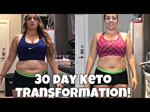 AMAZING 30 DAY KETO TRANSFORMATION | Keto Summer Slim Down Results