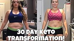 AMAZING 30 DAY KETO TRANSFORMATION | Keto Summer Slim Down Results
