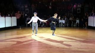 RTSF 2014 - Lindy Hop World Cup Showcase - William & Maeva