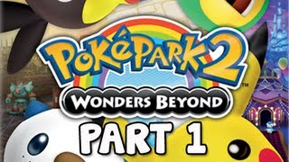 PokéPark 2 Wonders Beyond Walkthrough - Part 1 Opening with Zekrom & Reshiram (Gameplay / Commentary)