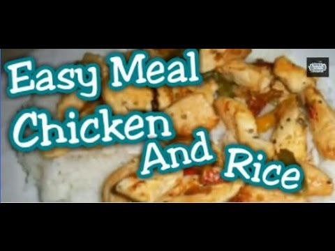BodyBuilding Meal: High Protein meal . Chicken And Rice