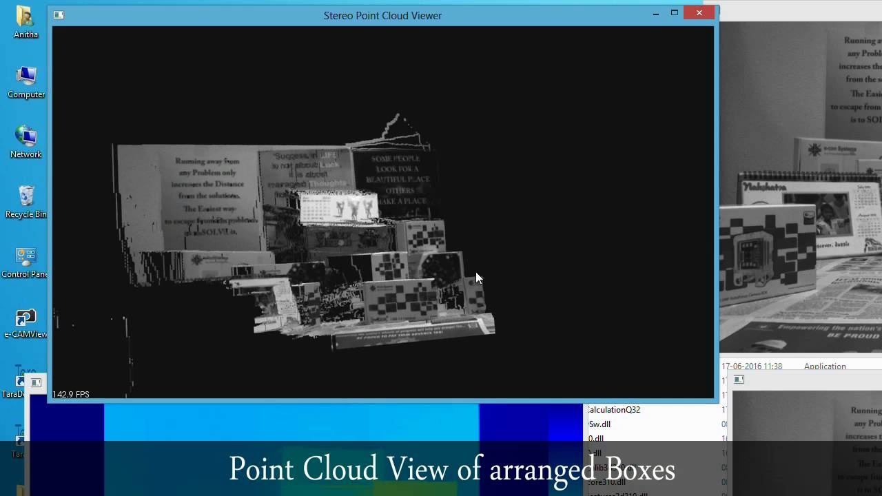 Point Cloud Demo with Tara - USB 3 0 Stereo vision camera | e-con Systems