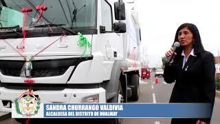 UN HUALMAY MÁS LIMPIO Y SALUDABLE CON UN NUEVO CAMIÓN COMPACTADOR