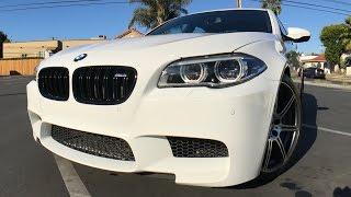 Забрал свою НОВУЮ ТАЧКУ — BMW M5 F10 🚀(Неделю назад забрал свою НОВУЮ ТАЧКУ Это малыха BMW M5 F10, белая королевна и вообще та еще сука! Вылож..., 2016-11-29T20:09:12.000Z)