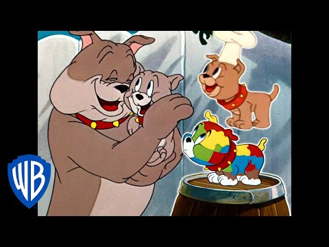 Tom & Jerry | Tyke the Best Pup Ever | Classic Cartoon Compilation | WB Kids