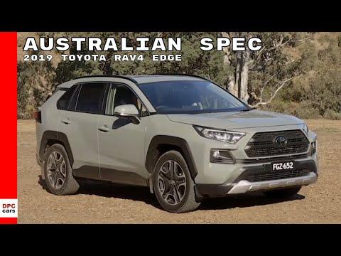 2019 Toyota Rav4 Edge Australian Spec
