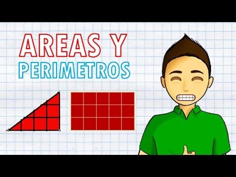 ÁREAS Y PERÍMETROS Super Facil