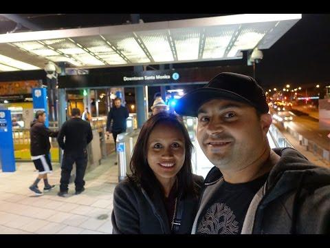 Opening Weekend on the Metro Expo Line to Santa Monica Beach! - HD #California