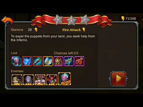 Heroes Charge Chapter 20 Elite 1-2 No Hero vip and 3 star