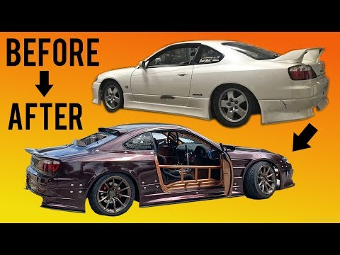 BUILDING A 1000HP S15 IN 10 MINUTES! (Pro Drift Car)