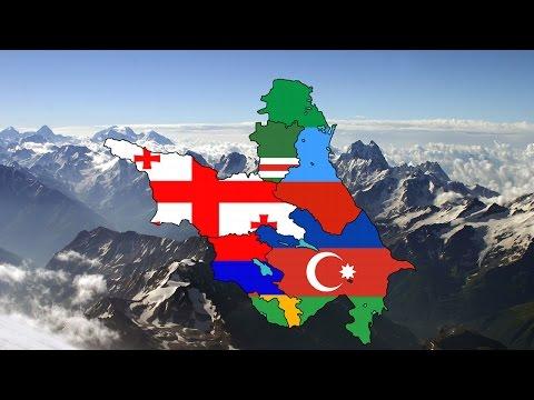 Map of the South-Caucasus speedart