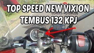 Top Speed Yamaha New Vixion 2014 Tembus 132 KPJ