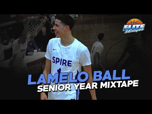 68 LaMelo Ball INSANE Senior Year Mixtape! Future #1 NBA Draft Pick?!
