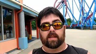 WE HAD THE PARK TO OURSELVES!!! - Kings Island Amusement Park - MASON OHIO