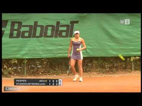 ITF 10k Chisinau 2016 / QF / Perper v Starodubtsewa