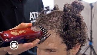 insane curly haircut transformation
