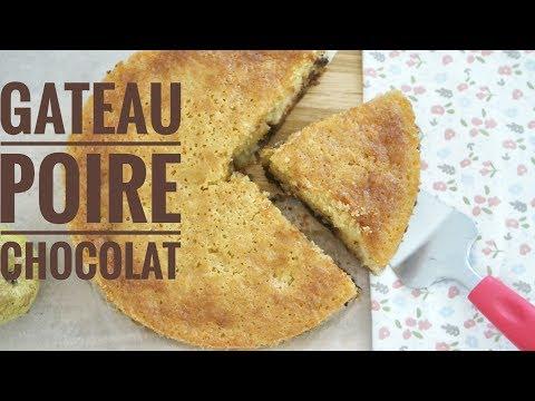 gÂteau-moelleux-poire-chocolat-🍐