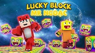 THỬ THÁCH ĐẬP 1000 LUCKY BLOCK VỚI MR NGOẠC TRONG MINECRAFT BIỆT ĐỘI SIÊU NHÂN