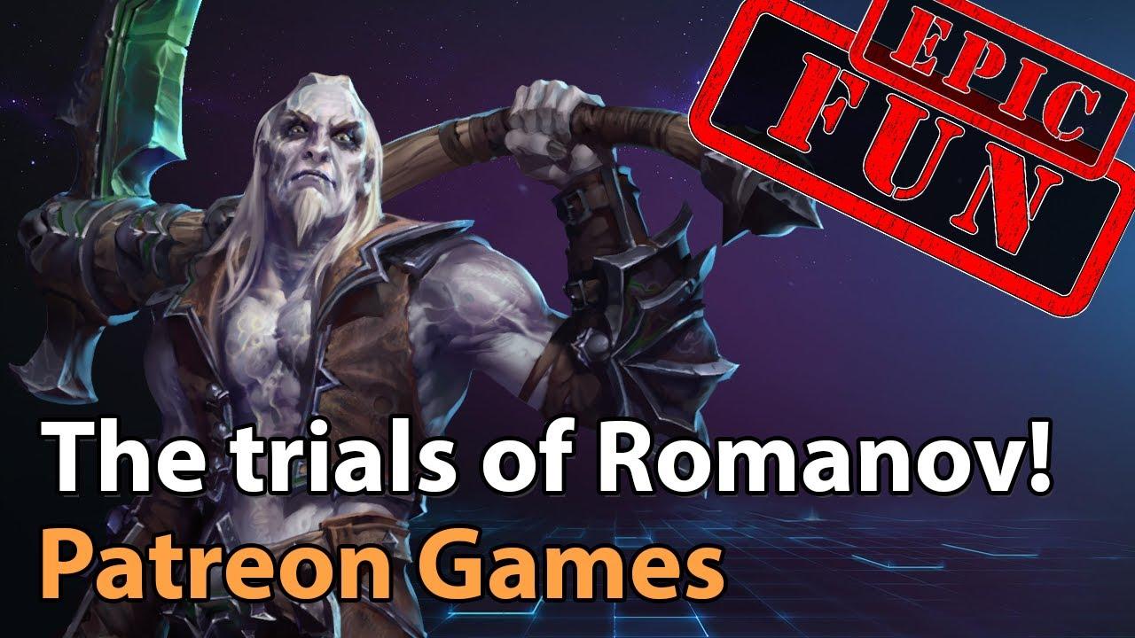► Patreon Games - The Nexus vs. Romanov! - Heroes of the Storm