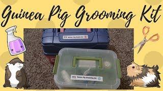 Guinea Pig Grooming Kit | Health & Grooming Series