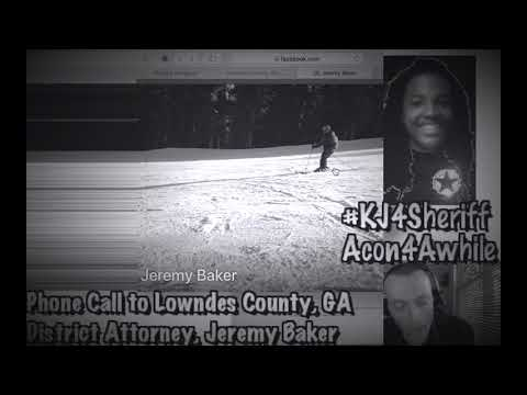 Reporting a Federal Crime to the ADA Jeremy Baker of Lowndes Co., GA