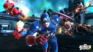 MARVEL ULTIMATE ALLIANCE 3 Movie (Cutscenes Only) 1080p HD