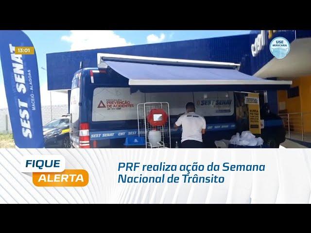 PRF realiza ação da Semana Nacional de Trânsito
