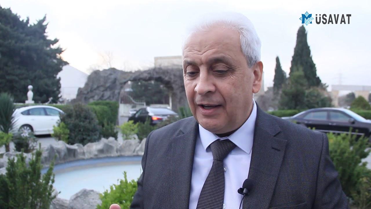 QAT sədri Akif Nağı Rauf Arifoğlunu dəstəklədi - YouTube