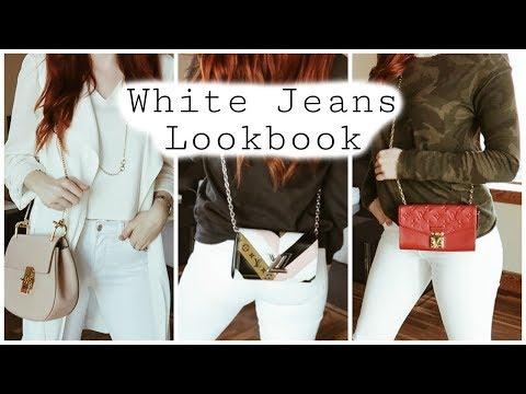 White Jeans Lookbook